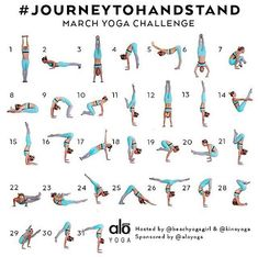 March 30 days to handstand challenge!