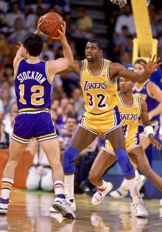 Basketball Legends, Basketball Players, John Stockton, Nba Trade Rumors, Nba Scores, Magic Johnson, Nba News, Nba Champions, Nba Players