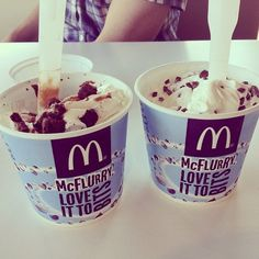 mcflurries. ♡