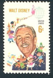 mint stamp, issued by the U.S. on September 11, 1968