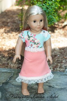 American Girl clothes 18 doll jersey knit by francoiselamasolet