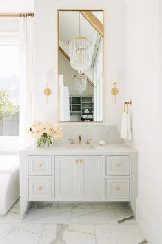 Home Interior Design .Home Interior Design Bathroom Renos, Small Bathroom, Master Bathroom, Girl Bathrooms, Condo Bathroom, Girl Bathroom Ideas, All White Bathroom, Cream Bathroom, Colorful Bathroom