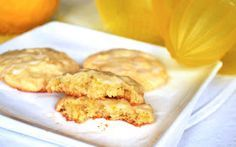 Pass the Cocoa: Chewy Lemon Cookies #lemoncookies #cookies #lemonrecipes