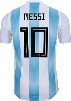 Buy the adidas Lionel Messi Argentina Authentic Home Jersey and support Messi and the Argentines in their quest for World Cup glory! Messi 10, Lionel Messi, World Cup Trophy, Messi Argentina, Word Cup, Jersey Atletico Madrid, Soccer Gifts, All About Eyes, T Shirts
