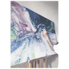 Fluid Art Fluid Painting  Abstract Art  Abstract Artist  the moon (@olyatra) • Instagram photos and videos