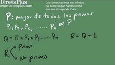 Los números primos son infinitos (demostración)