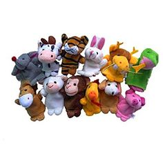 Child Baby Toys12PCs Plush Animal Finger Puppet Early Education Toys GiftLaimeng -- Find out more about the great product at the image link.Note:It is affiliate link to Amazon.