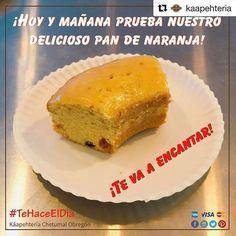 @kaapehteria  Aprovecha y ven hoy o mañana a probar nuestro delicioso Pan de Naranja... te esperamos en la Káapehtería Chetumal Obregón!  Recuerda que también nos encontramos en Cancún en el interior de la Casa de la Cultura con bellas instalaciones y deliciosos postres panes y alimentos.  #ConsumeLocal #HechoEnQuintanaRoo #HechoEnMéxico #Káapehtería #TeHaceElDía #Cafetería #Café #Alimentos #Postres #Pasteles #Panes #Cancún #Chetumal #México