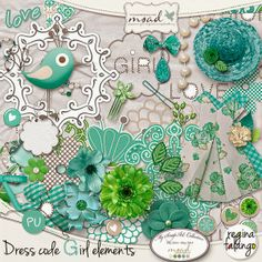 Dress code Girl by Reginafalango Scrap'o to My Scrap Art Digital  https://www.myscrapartdigital.com/shop/reginafalango-c-24_109/dress-code-girl-elements-p-4656.html