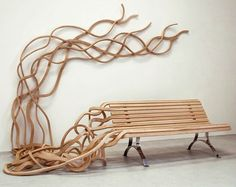bench - it would be interesting making it of living willow...