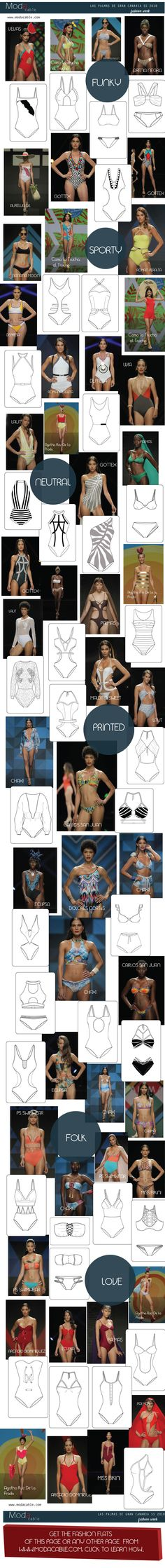 SS 2018 swimwear trends only at modacable.com...follow us for more...