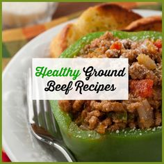 Healthy Dinner Recipes With Ground Beef Skinnytaste - healthy ground beef recipes - easy ground beef recipes Healthy Beef Recipes, Beef Recipes For Dinner, Clean Eating Recipes, Pork Recipes, Healthy Food, Hamburger Recipes, Dinner Healthy, Eating Healthy, Recipes Using Ground Beef