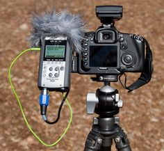 Recording audio with your video DSLR, part 1.