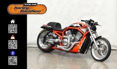 2006 HARLEY-DAVIDSON VRXSE in ORANGE/BLACK At Auckland Harley-Davidson,  New Zealand www.amps.co.nz