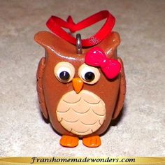 Hey, I found this really awesome Etsy listing at https://www.etsy.com/listing/167716462/handmade-owl-christmas-ornaments-girls