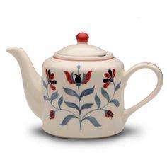 HOSTESS Folk Flower Teapot