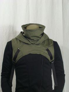 Wasteland Cowl V2 OD Green by Crisiswear on Etsy, $60.00