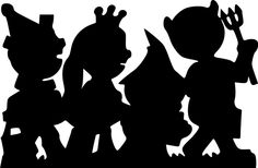 Kids Costume Line Silhouette SVG.svg - File Shared from Box/ free
