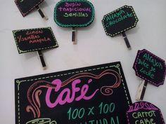 Mini pizarras para la Pianca Enamel, Chocolate, Accessories, Mini Chalkboards, Sweet, Creativity, Vitreous Enamel, Enamels, Chocolates