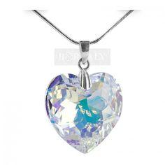Swarovski, Pendant Necklace, Silver, Jewelry, Jewlery, Money, Bijoux, Schmuck, Jewerly