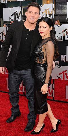 MTV Movie Awards 2014 : Channing Tatum & Jenna Dewan Tatum