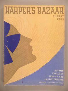 Erte Harpers Bazaar Cover