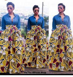 60 Ways to Style Your Ankara Skirts - Wedding Digest Naija