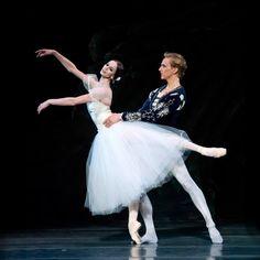 """Giselle"" Polina Semionova - David Hallberg Photographer Gene Schiavone"