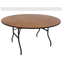 Birch plywood Banquet folding table