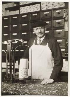 Grocer and Hardware Dealer c. 1929, printed 1990 by August Sander 1876-1964