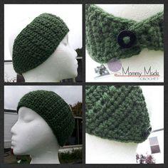 Ravelry: Patterned Headwrap/Earwarmer pattern by Anna Wilson