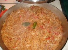 Mexican Sopa de Fideos (Vermicelli Mexican Style) Recipe just change out chicken broth for vegetable broth
