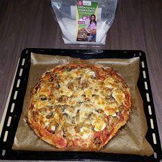 Szafi Fitt gluténmentes, tejmentes paleo pizza Light Recipes, Lasagna, Ethnic Recipes, Blog, Skinny Recipes, Blogging, Light Chicken Recipes, Lasagne