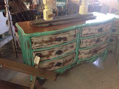 Distressed dresser by ROCKIN A FURNITURE