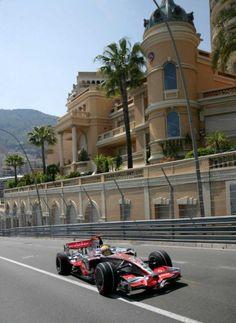 Formula One race in Monaco