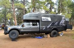 There were a few larger vehicles strewn about the expo, but the EarthRoamer XV-LTS owned i...