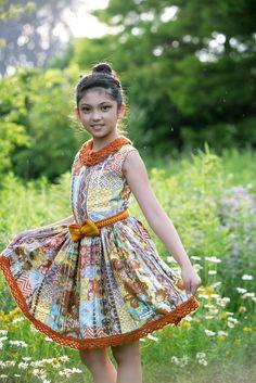 "Danielle G - Anzhelika Crochet's ""Tribe Dress"""