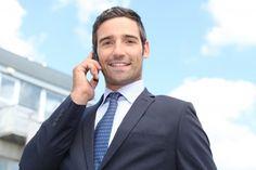 13845664 - confident salesman stood outside