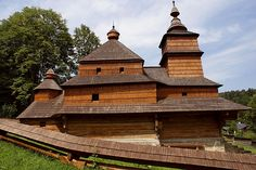 Saint Nicholas wooden church, Zboj, Slovakia