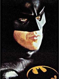 Michael Keaton in Batman, 1989.