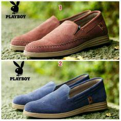 Saya menjual Sepatu PLAYBOY Casual Pria Santai Slop Murah Slip On Kampus  Jalan Kuliah Kantor Kerja 0e6614091d