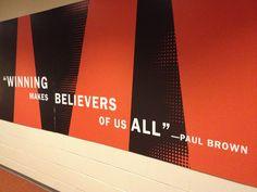"""""""Winning Makes Believers of Us All..."""" - Paul Brown"""