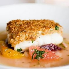 the BEST Baked Haddock