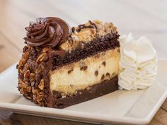 More desserts from Cheesecake Factory