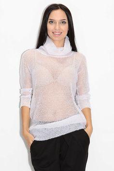Свитер из мохера (85 фото): мохеровый тонкий свитер, с рукавом летучая мышь, с воротником, модный свитер