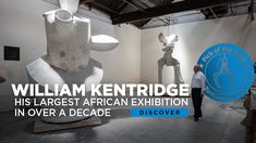 William Kentridge's sculpture exhibition, Why Should I Hesitate: Sculpture, will be running at the Norval Foundation 24 August 2019–23 March 2019. The exhibition is his largest in Africa in over a decade, and focuses solely on his sculptural practice.