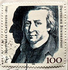Matthias Claudius. 1740-1815