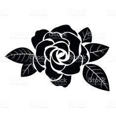 Find Flower Motif Sketch Design stock images in HD and millions of other royalty-free stock photos, illustrations and vectors in the Shutterstock collection. Thousands of new, high-quality pictures added every day. Black Silhouette, Silhouette Design, Stencil Rosa, Nagel Stamping, Rose Sketch, Flower Outline, Stencil Patterns, Sketch Design, Free Vector Art
