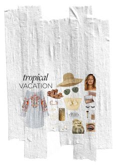 """Day at the beach"" by laurenjames16 on Polyvore featuring Free People, Helen Kaminski, RED Valentino, Givenchy, Urban Decay, Violet Voss, Benefit, tarte, Giselle and Loren Stewart"