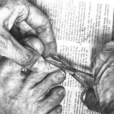 Reality check by Heikki Leis, via Behance Ap Drawing, Ballpoint Pen Drawing, Life Drawing, Advanced Higher Art, Waterman Pens, Human Body Parts, Sketch Painting, Gcse Art, High Art